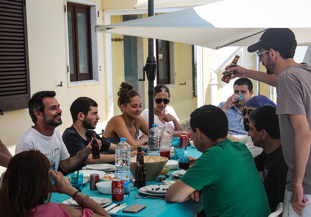 Almoço Surfcamp 360